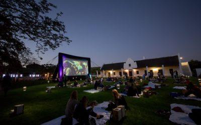 Settle in for an outdoor movie night at Spier in Stellenbosch.