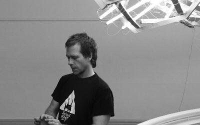 Artist Wim Botha bends light at Norval Foundation