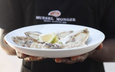 Sparkling Kaapse Vonkel and the Oysters from Heaven