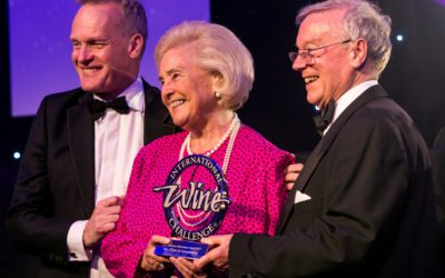 May de Lencquesaing receives lifetime achievement award at the IWC awards in London