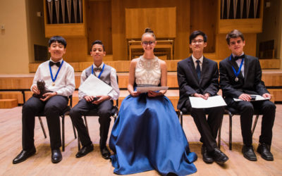 11-year-old Mike Wang wins Hennie Joubert National Piano Competition