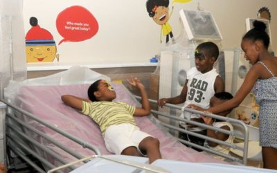 Italtile helps to provide medical services to the children of Southern Africa