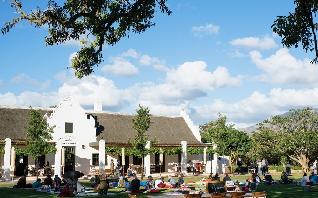 Comedy in the Vines this summer at Spier