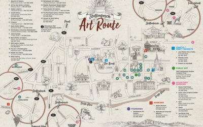 The launch of the Stellenbosch Art Route