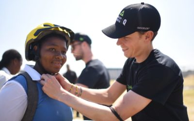 Team Dimension Data for Qhubeka shifts kids forward