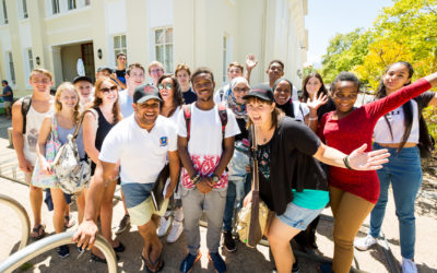Stellenbosch University welcomes newcomers this week