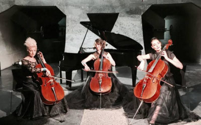 Rosanthorn Cello Trio at Oude Libertas, Amphitheatre on Friday 25 January 2019