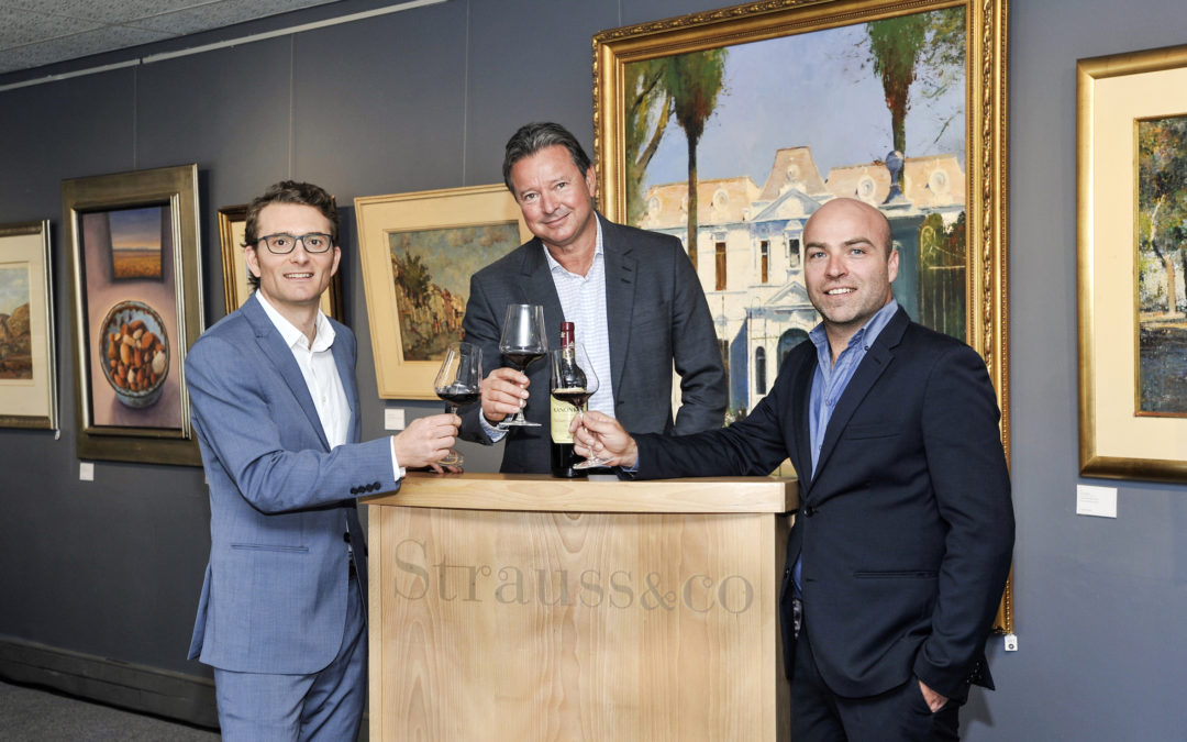 Records tumble at the inaugural Strauss & Co Fine Wine auction