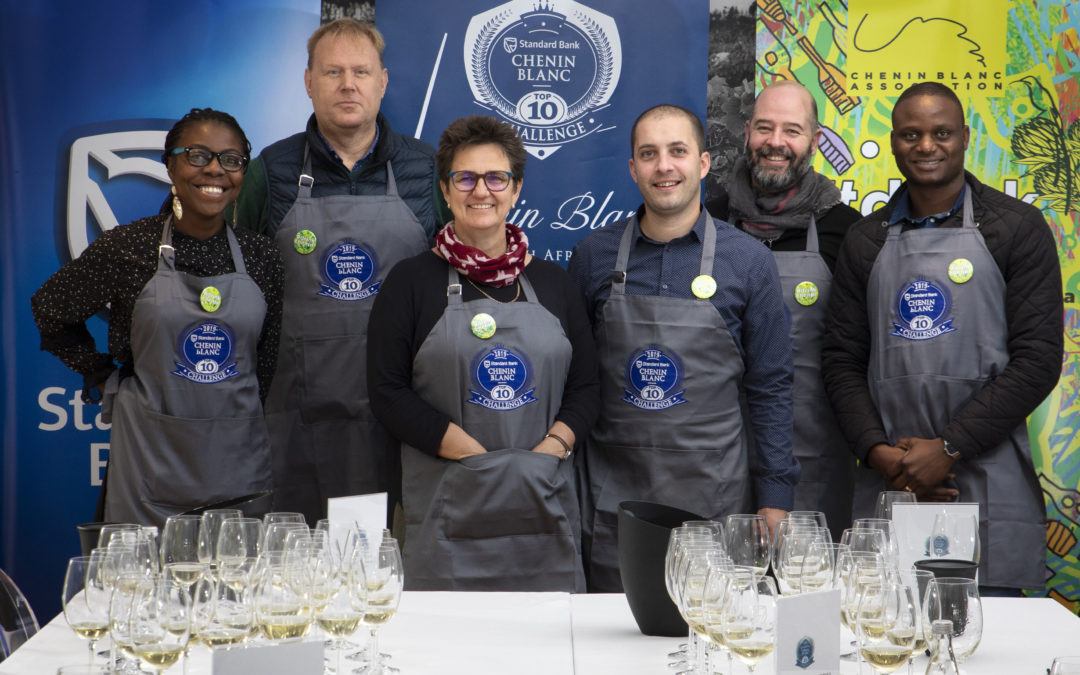 2019 Standard Bank Chenin Blanc Top Ten Challenge winners