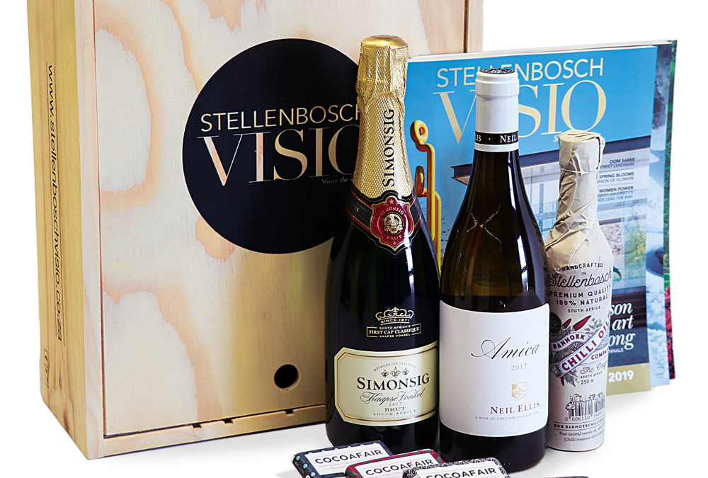 The summer issue of Stellenbosch Visio is out now