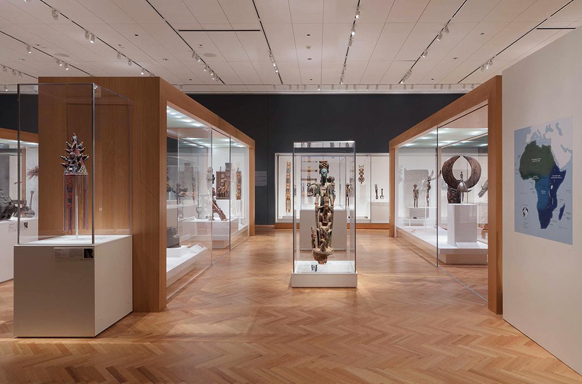 Virtual museum art travels