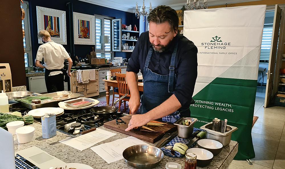 Stonehage Fleming, Babylonstoren and celebrated chef Bertus Basson