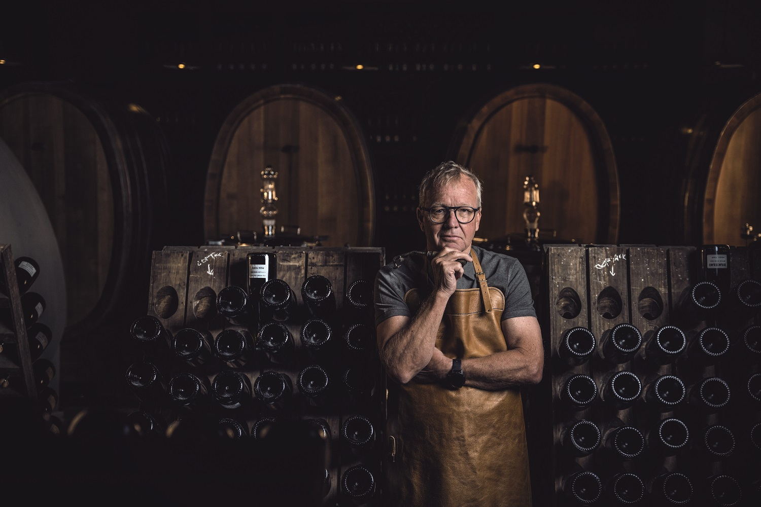Known as Mr Bubbles for his way with sparkling wine, cellar master Pieter Ferreira has been capturing the stars in liquid form for close on four decades.