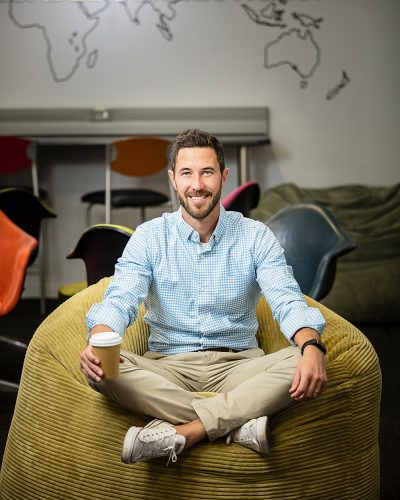 Joshua Romisher, CEO of Stellenbosch University's LaunchLab, is committed to bringing a global mindset to the company and to build a cross-pollination of ideas.