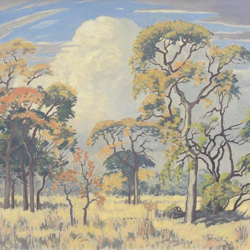 Jacob Hendrik Pierneef | Bushveld Game Reserve was a top lot going at R2 276 000